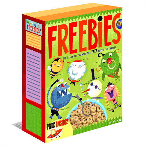 Custom Cereal Boxes | Small Cereal Packaging Boxes