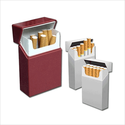 cigarette packaging boxes