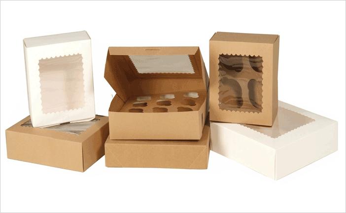 Cupcake Boxes Wholesale Custom Printed Cup Cake