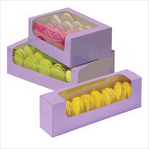 Custom Macarons boxes