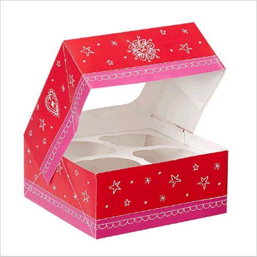 Printed muffin Boxes