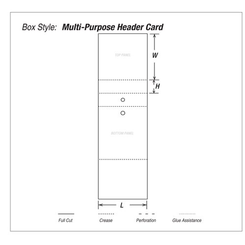 Multi-purpose-header-card