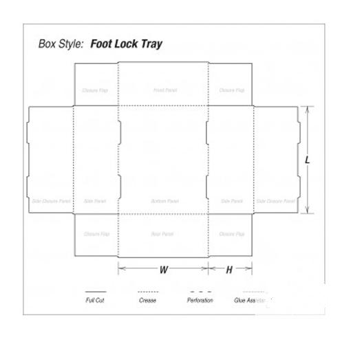 Foot Lock Tray