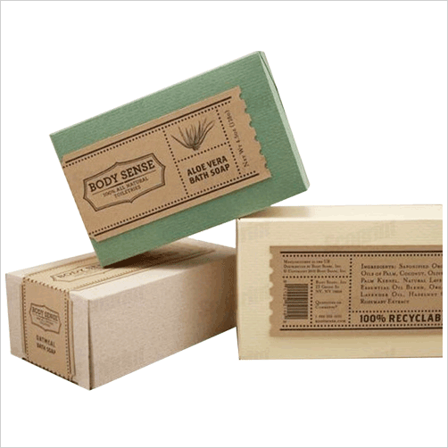 Custom Soap Boxes Wholesale Kraft Soap Packaging Boxes