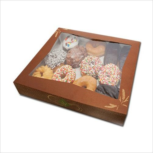 Custom Donut Boxes Wucong Delicious Donuts Custom Fashion
