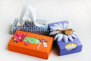 Pocket Tissue Boxes-Becuo