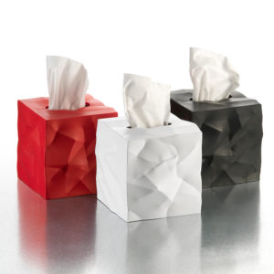 Crumpled Tissue Boxes-Essey Wipy