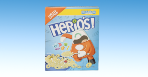 mini cereal box