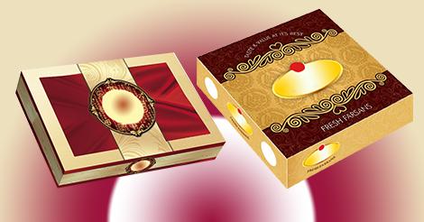 Sweet bakery box