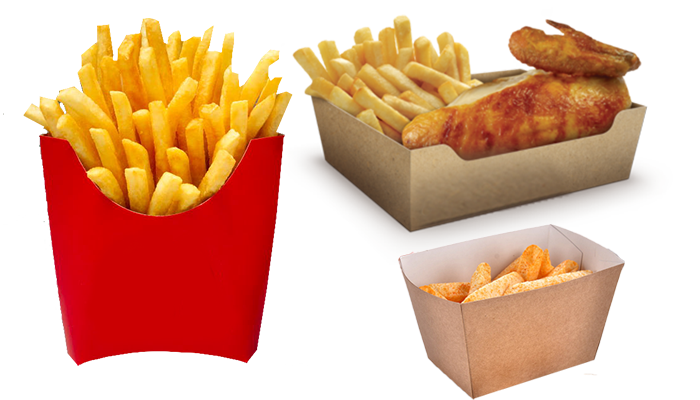 finger chips boxes