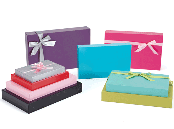apparel gift boxes