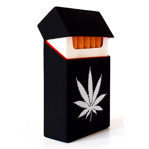 cardboard cigarette box