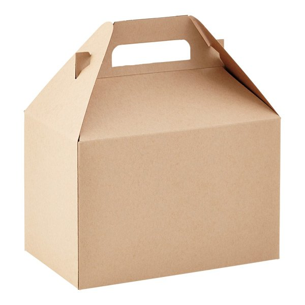 Kraft large Gable Boxes