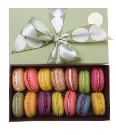 Clear Macaron Boxes