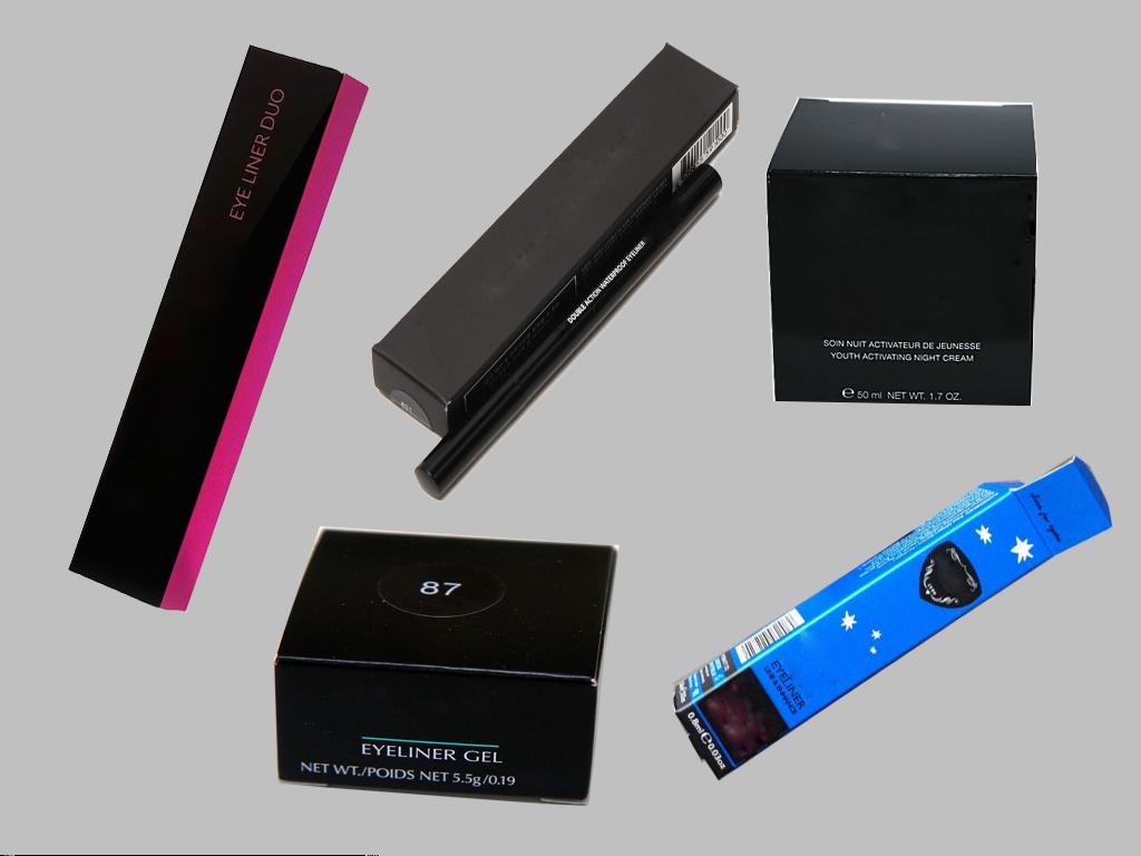 Eyeliner Packaging Boxes