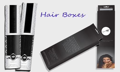 foldable hair boxes