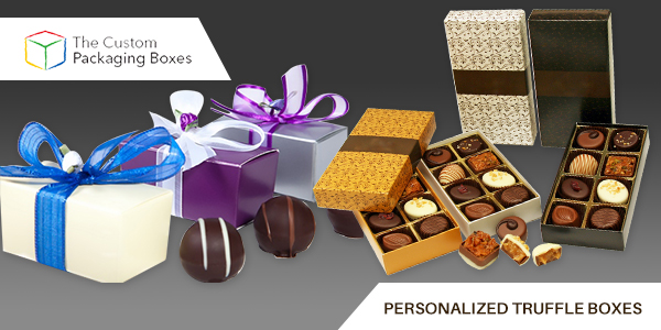 Personalized truffle boxes