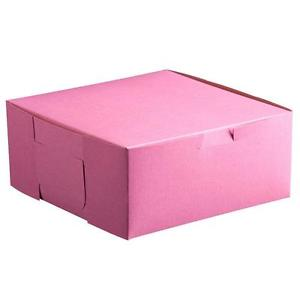 pink donut boxes
