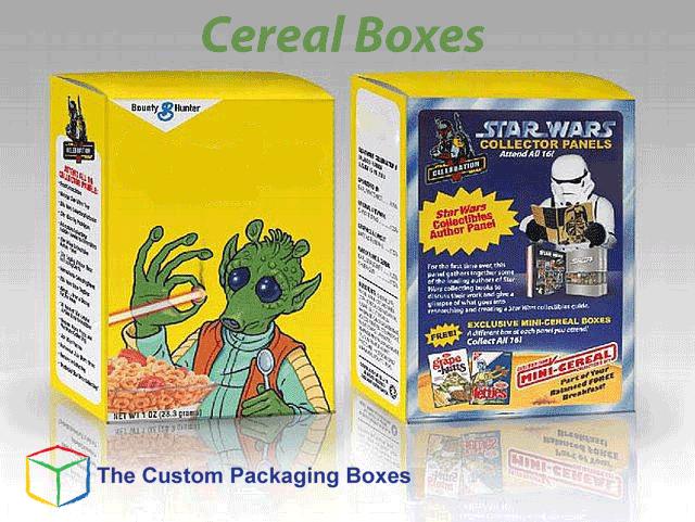 Cereal Kraft Box