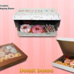 Donut boxes: tempting donut box to show your tasteful item