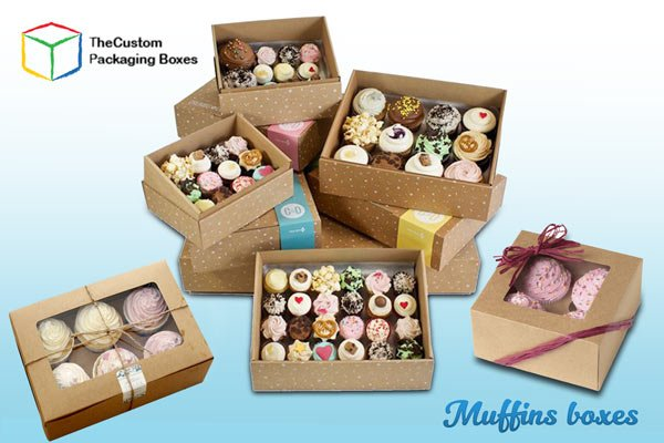 Muffins Packaging Boxes