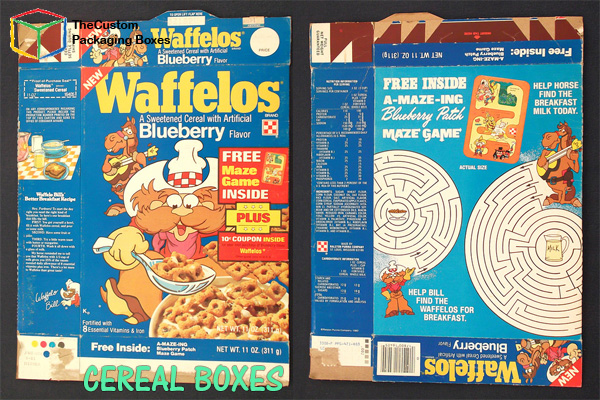 Cereal Boxes 1