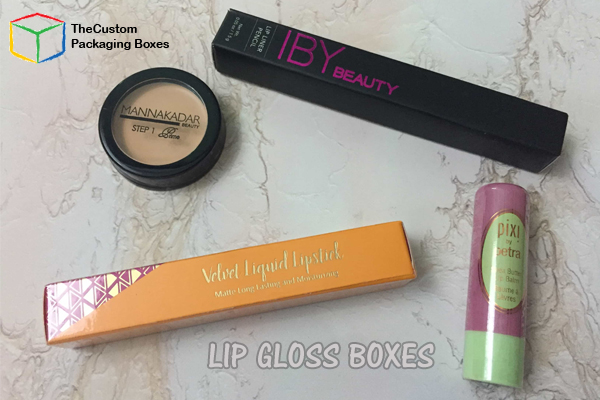 Customized Lip Gloss Boxes  1