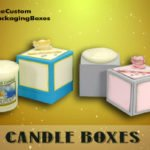 Candle boxes: Boost Product Sales with custom candle boxes