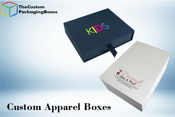 Custom apparel boxes