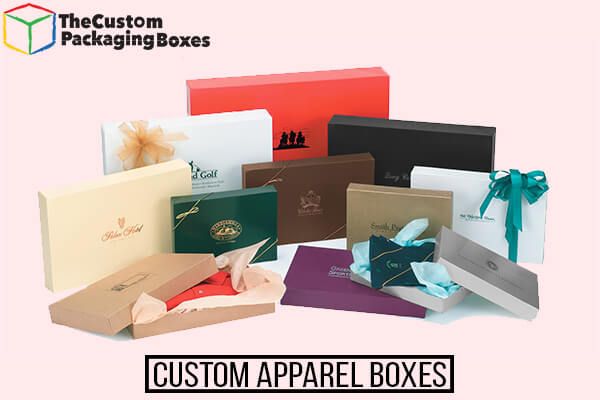 customized apparel Printed boxes
