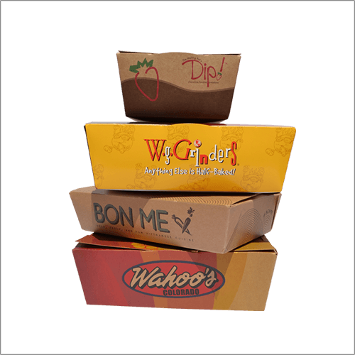 Custom Printed Food Boxes