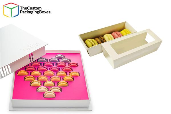 Macaron Boxes Packaging