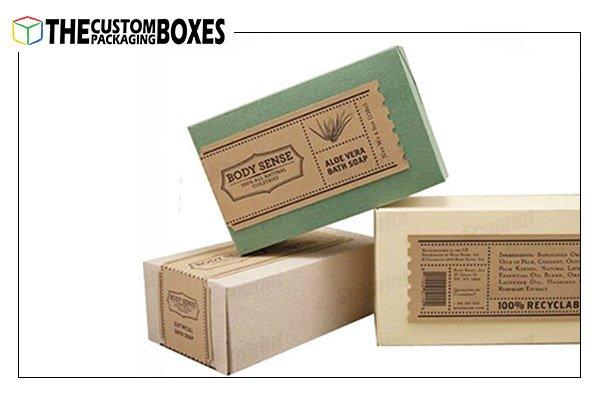 Kraft Soap Packaging