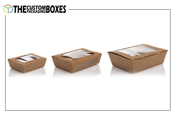 Food Packaging Boxes with Windows