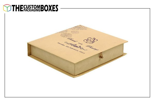 Custom printed Wedding Card Boxes