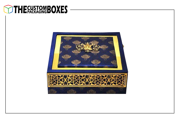 Custom wedding card boxes printing