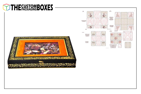 5 type of Wedding Card Boxes that really appeal the customers