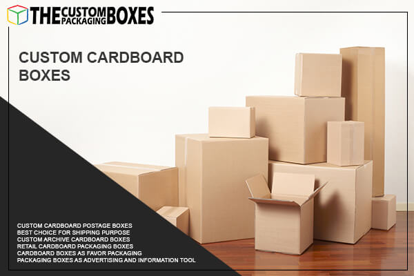 How to utilize cardboard boxes in wide range of packaging and promotion?