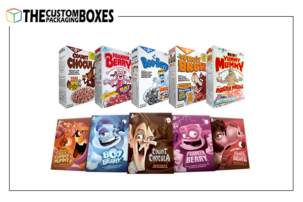 Customized cereal box