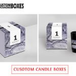 Get attractive candle boxes to grab the attention of the customers