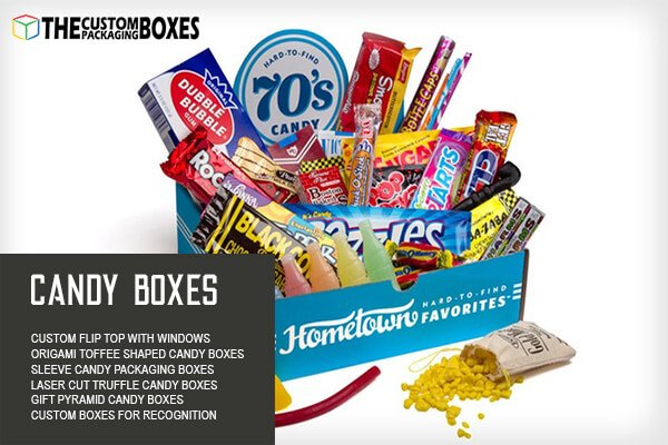 Bring Candy packaging Boxes to innovate charm in your candy packaging