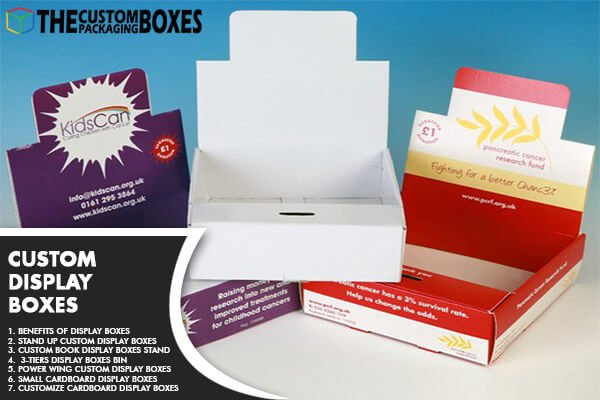 Display Boxes with all their attractive types and benefits