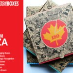 7 interesting pizza boxes to preserve the freshness of pizzas