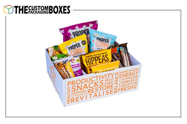 Custom Made snack boxes
