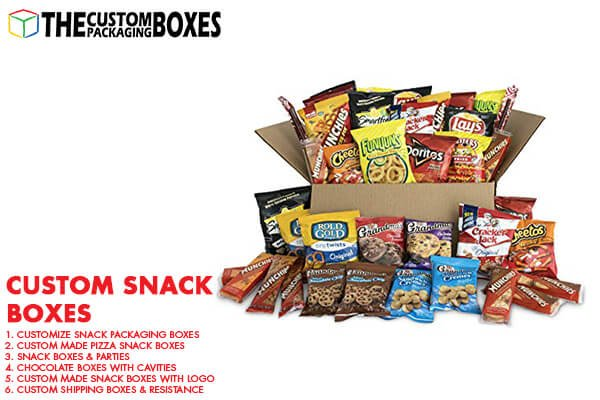 Get premium quality snack boxes with desired customization