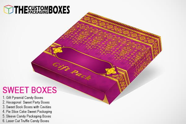 Appealing varieties of sweet boxes to make sweets more appealing