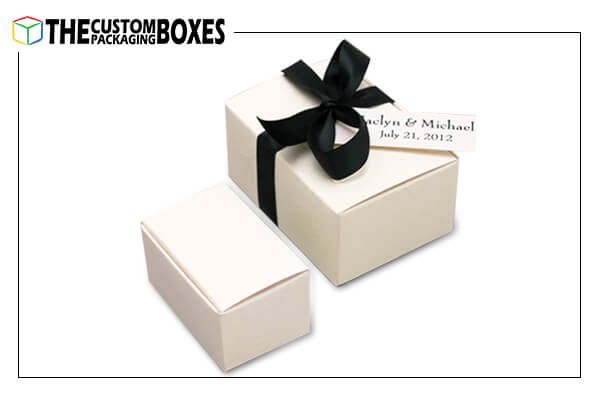 Favor printed boxes