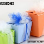 Serve your food in Custom Chinese Takeout Boxes to your customers
