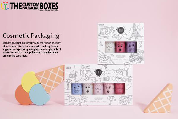 Get innovative Nail Polish Box get from The Custom Packaging Boxes