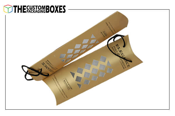 Foldable hair extension packaging boxes
